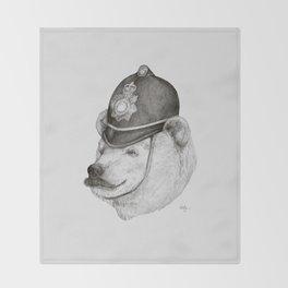 Bearly Legal Throw Blanket