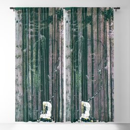 12,000pixel-500dpi - Kay Nielsen - The Lost Palace And The Crying Daughter Blackout Curtain