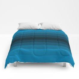 Blue Gradient Comforters