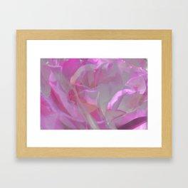 Pink Mist Framed Art Print