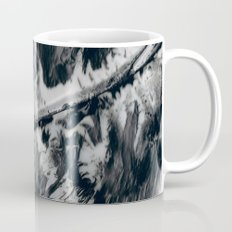 Low Paint Relief Collage Mug