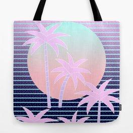 Hello Miami Moonlight Tote Bag