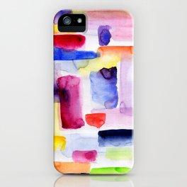 Color Block iPhone Case