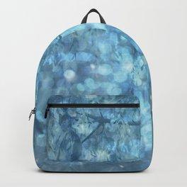 MYSTICAL BLUE WINTER Backpack