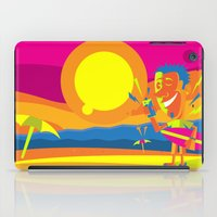surfer iPad Cases featuring Surfer by Roberlan Borges