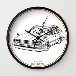 Crazy Car Art 0213 Wall Clock