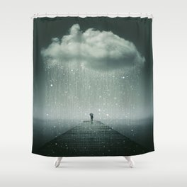 Weathering the Storm Shower Curtain