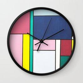 Shape Up Wall Clock