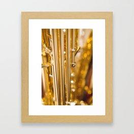 Dazzling Sound Framed Art Print