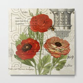 Persian Buttercup Metal Print
