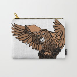 Approaching Owl Carry-All Pouch