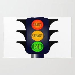 Ready Steady Go Traffic Lights Rug