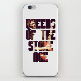 Queens Of The Stone Age QOTSA Font Josh Homme Guitar iPhone Skin