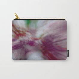 Tie-Dye (abstract created from blooming redbuds) Carry-All Pouch