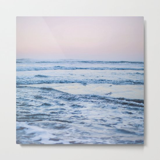 Pacific Ocean Waves Metal Print