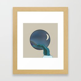 Step out Framed Art Print