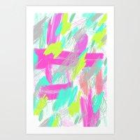 01 MARK Art Print