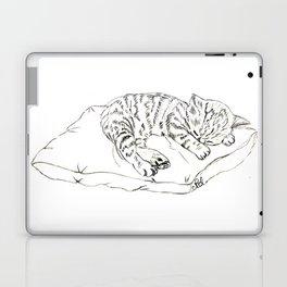 Kitten sleeping Laptop & iPad Skin