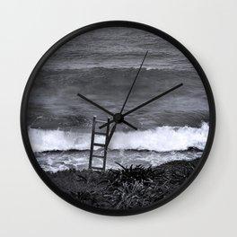 Ladder Wall Clock