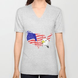 American Dream Unisex V-Neck