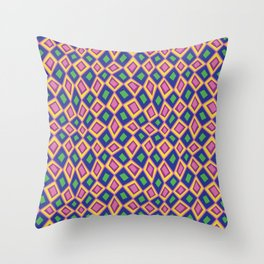 Diamonds are Forever-Crayon Colors Throw Pillow