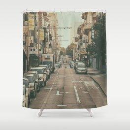 City Streets San Francisco Shower Curtain