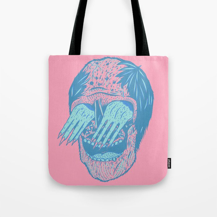 Hand/Eye Tote Bag
