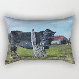 Barnyard Morning Rectangular Pillow