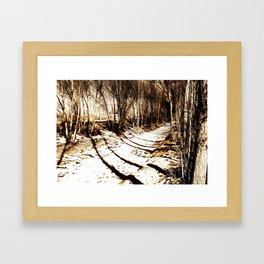 Ditch Framed Art Print
