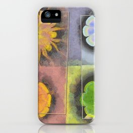 Stibiated In Dishabille Flower  ID:16165-125308-23431 iPhone Case