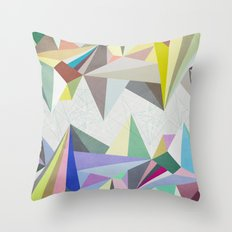 Colorflash 4 Throw Pillow