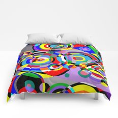 Raindrops by Bruce Gray Comforters