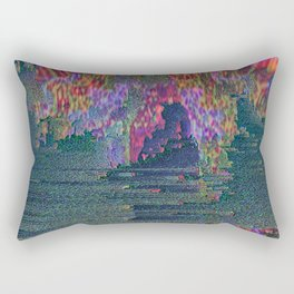 Ritual Glitch Rectangular Pillow