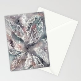 Mojave Feathers Stationery Cards