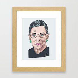 RBG Framed Art Print
