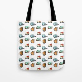Home Bodies pattern Tote Bag