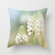 Dreamy Grape Hyacinth.... Throw Pillow