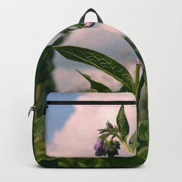 Healing Comfrey Plant with Flowers Backpack