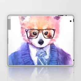 Cute fashion hipster animals pets red panda Laptop & iPad Skin