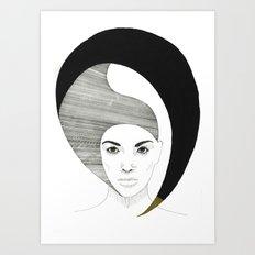 Fashion Illustration 4  Art Print