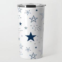 Elegant Star Pattern Travel Mug