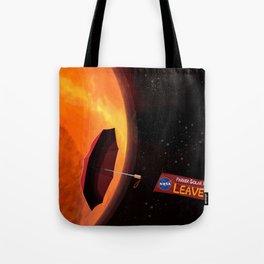 Parker Solar Probe Tote Bag