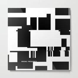 Wrong Frequency Metal Print
