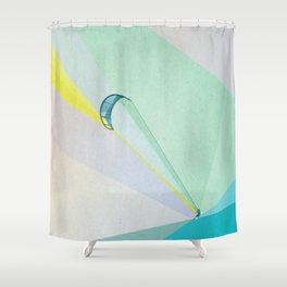 human edge #4 Shower Curtain
