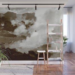 Sleeping volcano Wall Mural