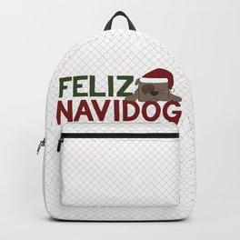 Feliz Navidog Backpack