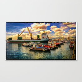 Valparaiso port Canvas Print