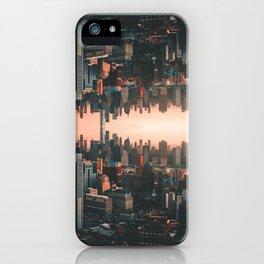 New York City Skyline Surreal iPhone Case