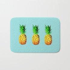 Fresh pineapples  Bath Mat