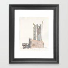 Großmarkthalle / EZB Framed Art Print